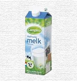 Campina halfvolle melk Tafellunch
