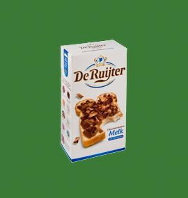 De Ruyter hagelslag melk van Buitendijk Dagvers bv Rotterdam voor de Tafellunch