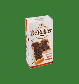 De Ruyter hagelslag puur van Buitendijk Dagvers bv Rotterdam voor de Tafellunch