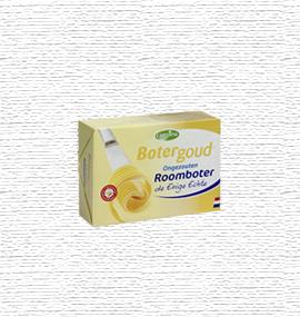 Roomboter Campina Botergoud pak 250 gram van Buitendijk Dagvers bv Rotterdam voor de Tafellunch