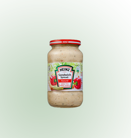 Heinz sandwichspread van Buitendijk Dagvers bv Rotterdam voor de Tafellunch